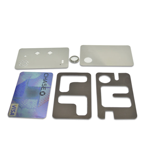 2pcs Credit Card Pipe