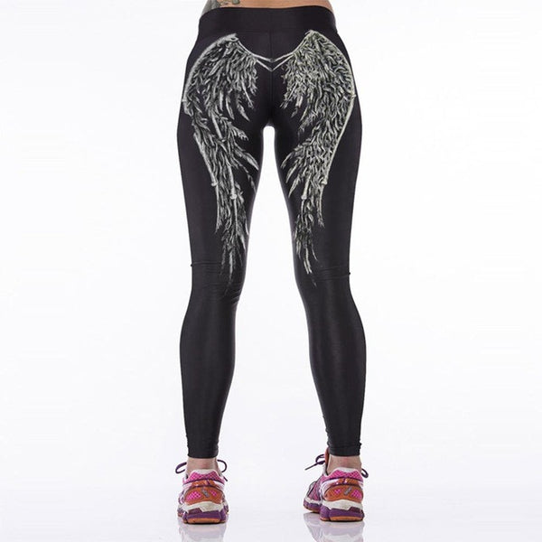 Leaf Patterm Women's Leggings