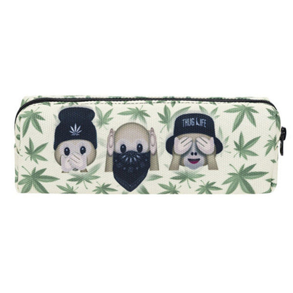High Monkey Weed cosmetic/pipe case