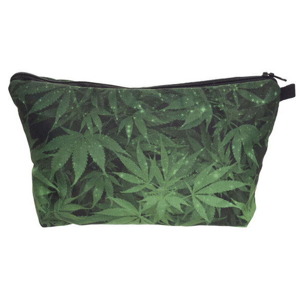 Weed Cosmetics Bag Travel Make up Bag Organizer