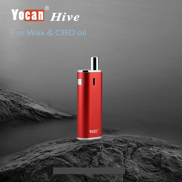 "Yocan Hive 2 in 1 Kit Vaporizer Kits With 2 Atomizers For Wax & CBD Oil 650mAh Box Mod ""Authorized dealers"""