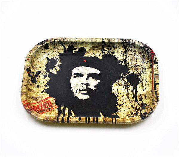 Iron Plate Rolling Trays 6.6inch*5.1inch*.7inch
