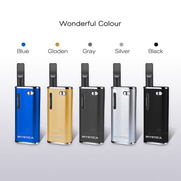 100% Original Mystica CBD V11 Oil Vaporizer Kit CE3 CBD THC Box Mod Kit Hibron H10 hive Airis Mini Box