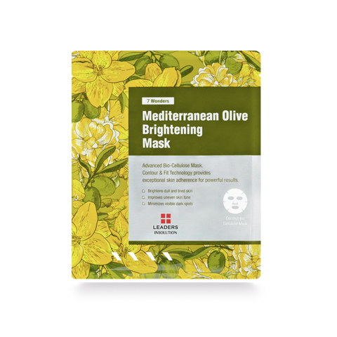 Leaders 7 Wonders Mediterranean Olive Brightening Mask