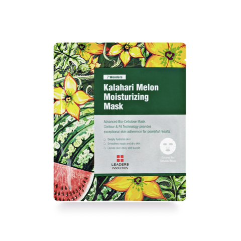 Leaders 7 Wonders Kalahari Melon Moisturizing Mask