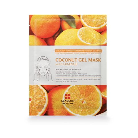 Leaders Coconut Gel Mask with Orange