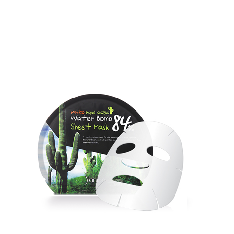 Skinion Cactus Waterbomb Sheetmask