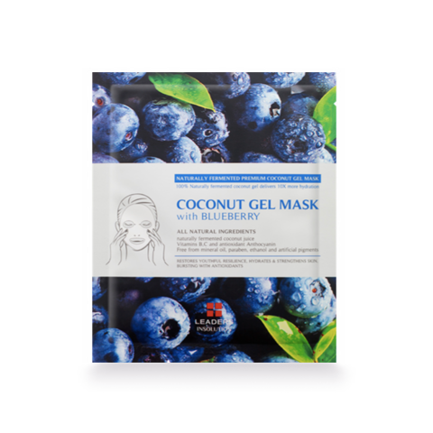 Leaders Coconut Gel Mask with Blueberry