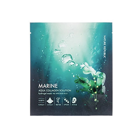 Nature Republic Aqua Collagen Solution Marine Mask
