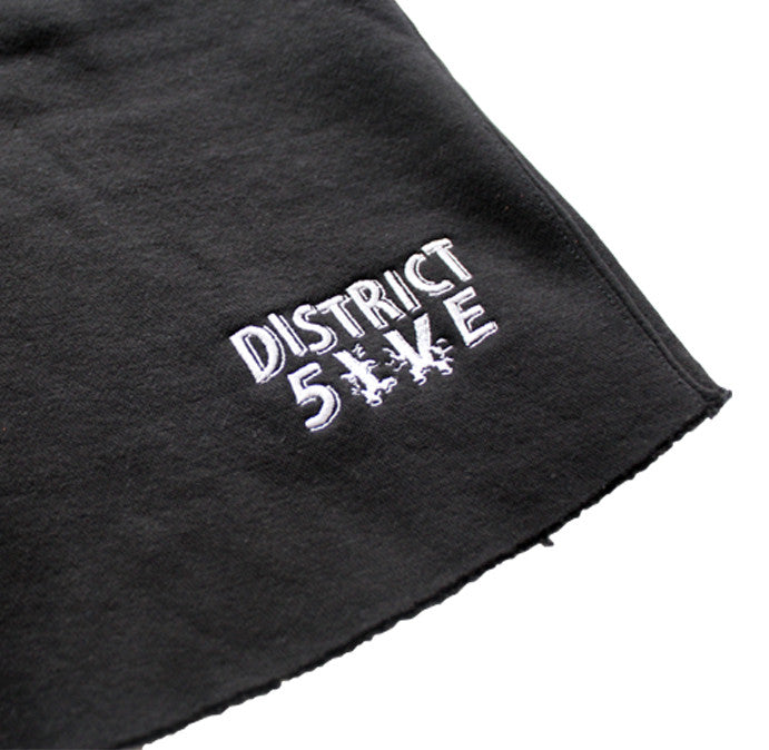 Cut Off Logo Shorts - District 5ive - 3