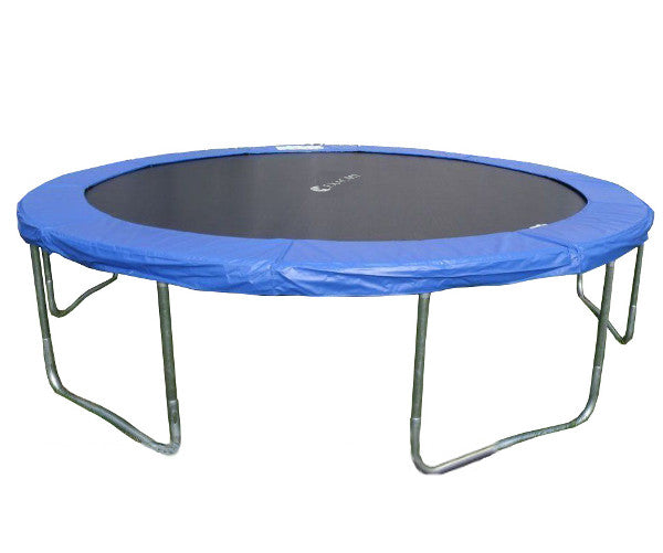 ExacMe 8-16FT Round Trampoline Steel Frame with Safety Spring Cover and Jumping Mat, T-series 6180 T008-T016