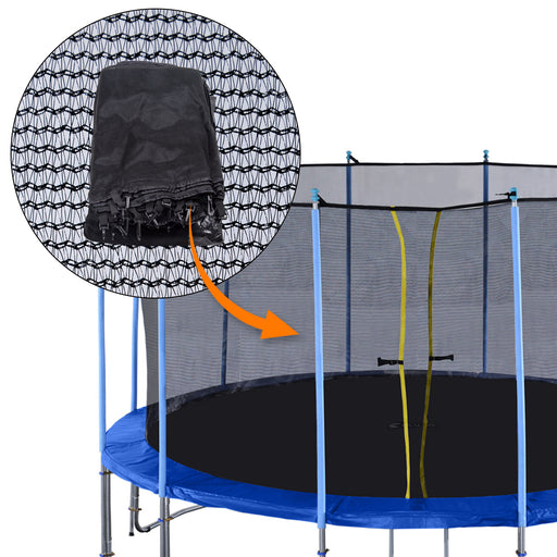 ExacMe Replacement Inner Safety Net, Poles not Included, for C-series 10/12/14/15/16ft Trampoline C10-C16EN