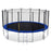 ExacMe Outdoor Trampoline 16 15 14 13 12 10 8 Foot with Outer Enclosure & Ladder Combo, 6180 T8-T16