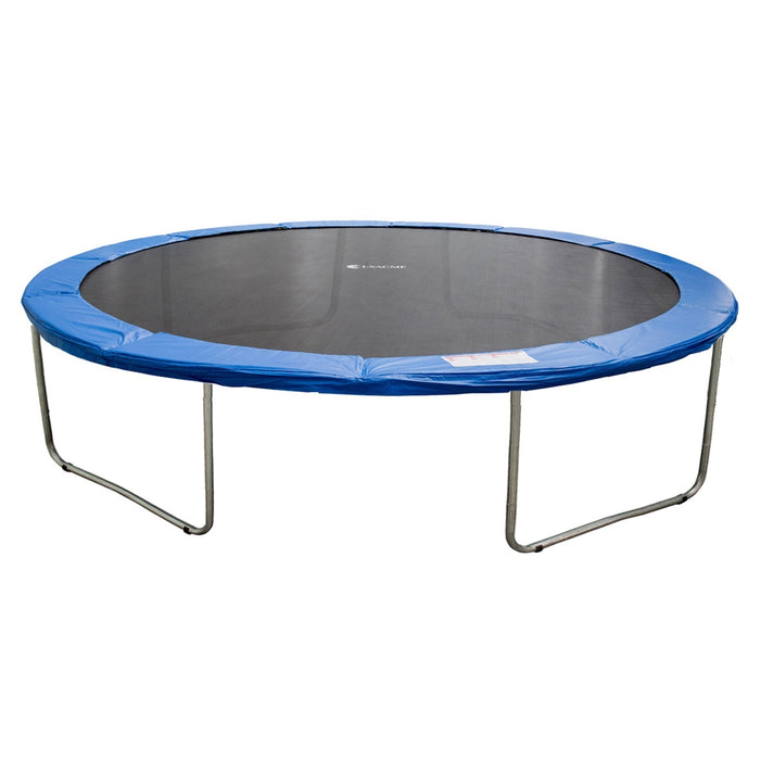 ExacMe Outdoor Trampoline 14 Foot with Spring Cover, 4 W-legs, 88 Springs, C-series 6181-C14T