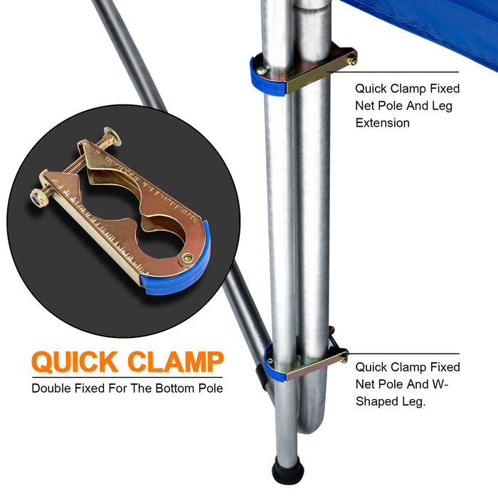 Quick Clamps for Exacme Trampoline Enclosure Net Poles