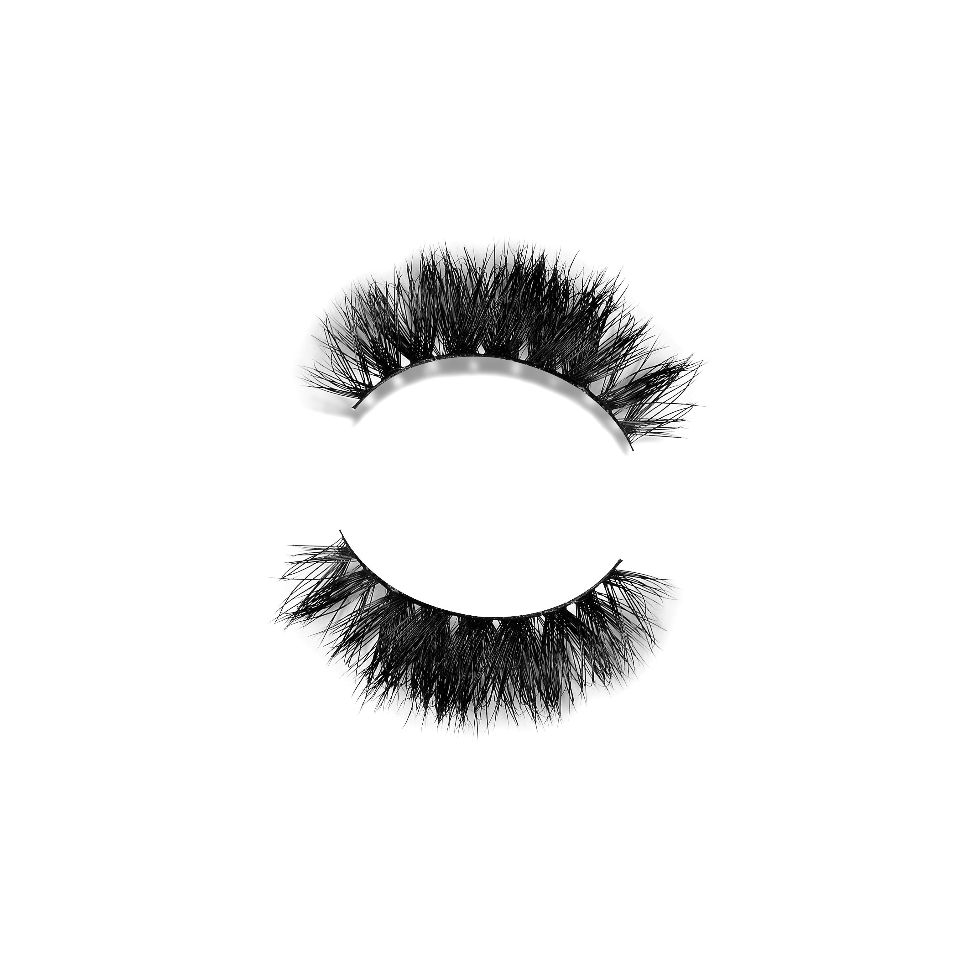 Queen - Luxurious 3D Mink strip lash inspired by Afro-Caribbean royalty.