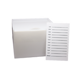 White Eyelash Extensions Lash Box - RAERE