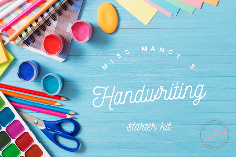 Miss Mancy's Handwriting Starter Kit