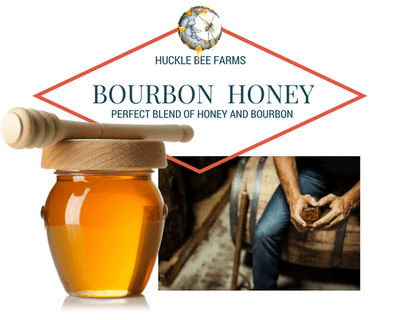 1 LB Bourbon Honey