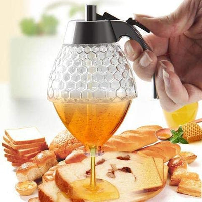 Glass Honey Dispenser