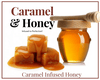 Honey - 1 LB Caramel Infused Honey