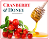 Honey - 1 LB Cranberry Infused Honey