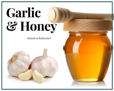 Honey - 1 LB Garlic Infused Honey