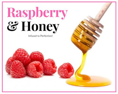 Honey - 1 LB Raspberry Infused Raw Honey