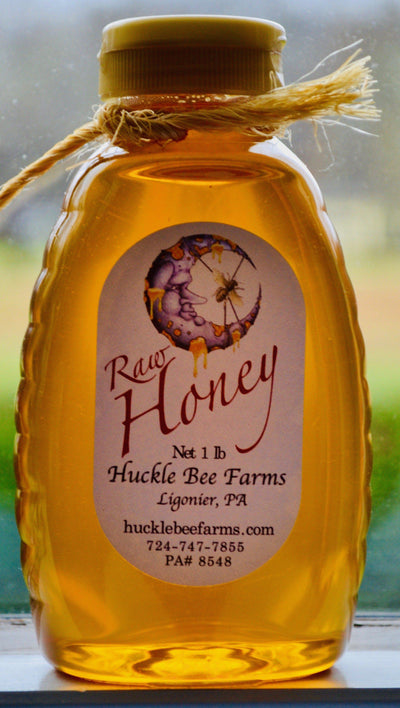 Honey - Plain Wild Flower Raw Unfiltered  Honey