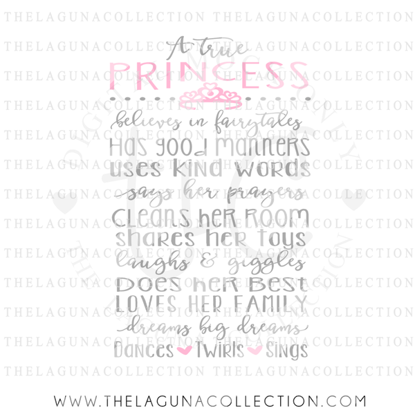 a-true-princess-svg-file