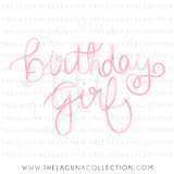 Birthday Girl SVG File