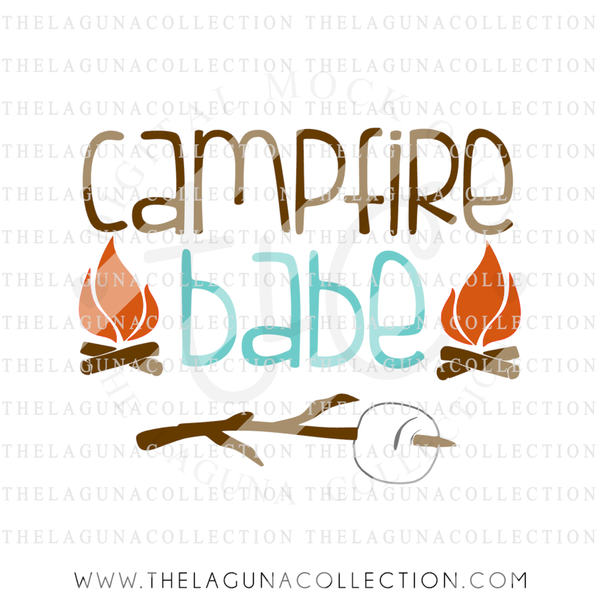 campfire-babe-svg-file-summer-svg