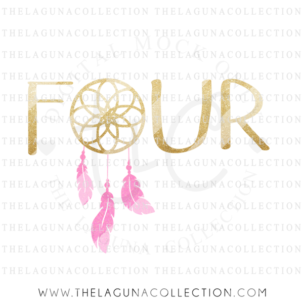 four-dreamcatcher-birthday-svg-file