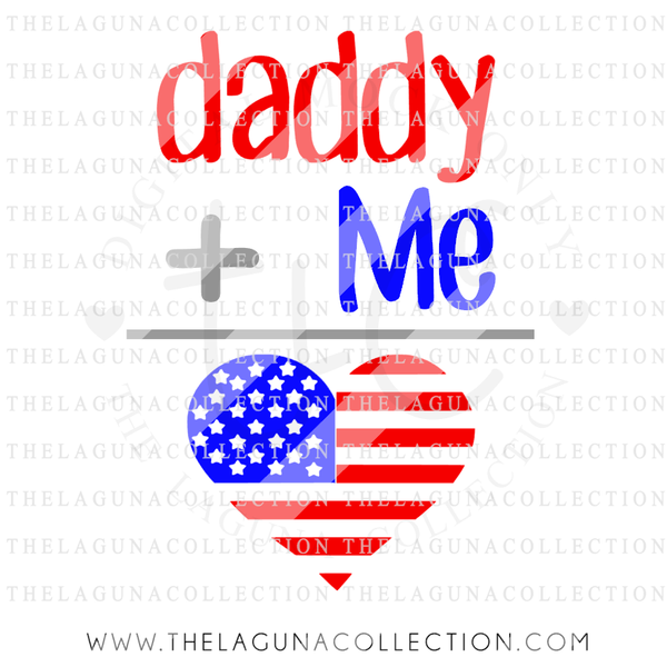 Daddy and Me (Patriotic)