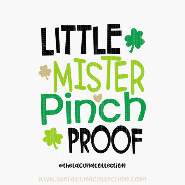 Little Mister Pinch Proof - SVG File