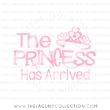 The Princess has Arrived SVG file