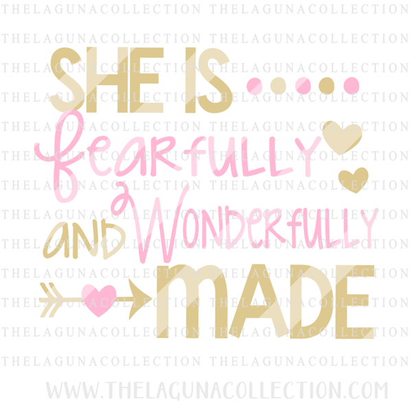 She is Fearfully & Wonderfully Made  --  8/20 Freebie Only!