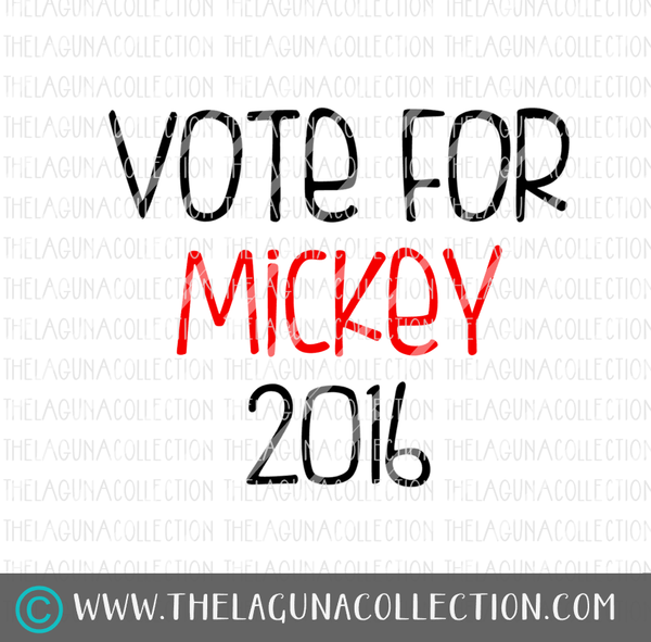 Vote for Mickey