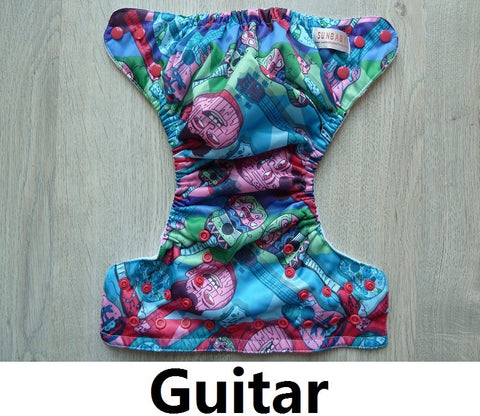Sunbaby Pocket Diaper Size 1 - Guitar