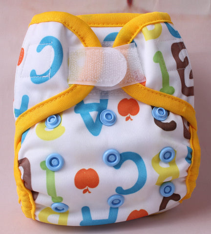 Newborn Diaper Cover - Alphabets