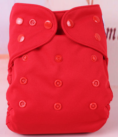 One-size Diaper Cover - Red Hot