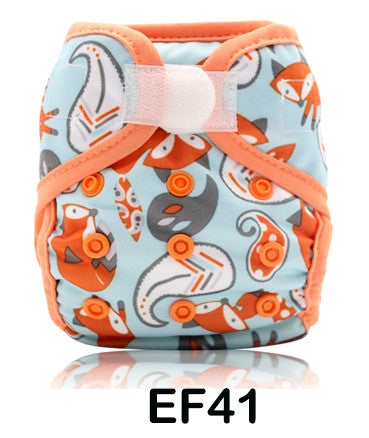 Newborn Diaper Cover - Happy Fox
