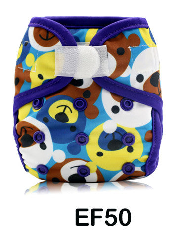 Newborn Diaper Cover - Teddy