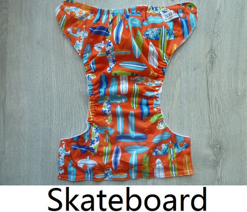 Sunbaby Pocket Diaper Size 2 - Skateboard