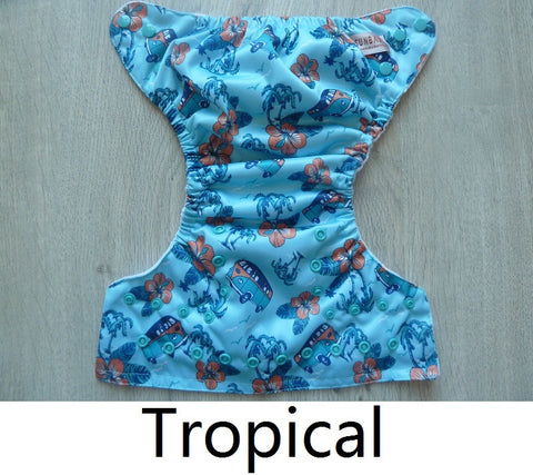 Sunbaby Pocket Diaper Size 1 - Tropical