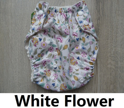 Sunbaby Bamboo Training Pant - White Flower