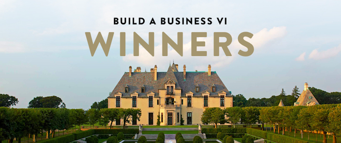 We are a winner of Shopify's Build a Business Competition!
