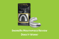 SnoreRx Mouthpiece Review