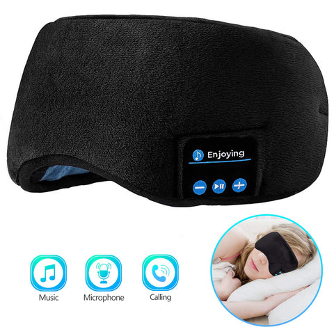Joseche Bluetooth Sleeping Eye Mask Sleep Headphones