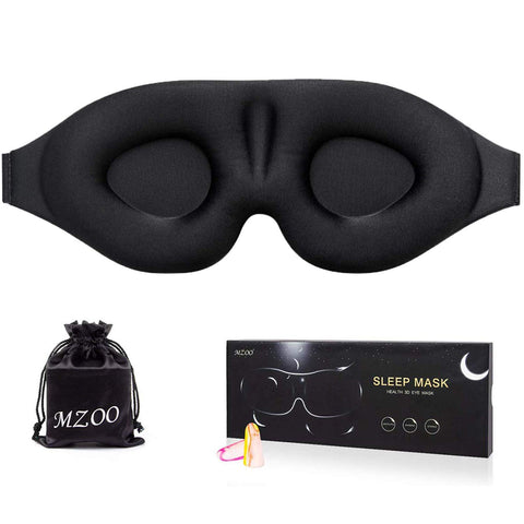 MZOO Sleep Eye Mask for Men Women